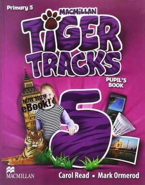 017 5EP SB TIGER TRACKS WITH EBOOK