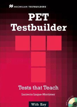 PET TESTBUILDER WITH ANSWER KEY (+CD)