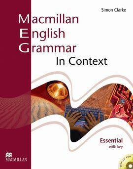 08- MACMILLAN ENGLISH GRAMMAR IN CONTEXT. ESSENTIAL WITH KEY +CD