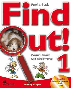 07 -FIND OUT! 1EP PUPIL'S BOOK (SONGS CD+CDR)