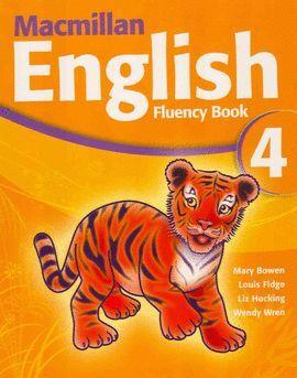 010 4EP MACMILLAN ENGLISH FLUENCY BOOK
