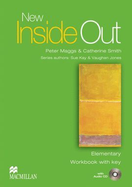 011 NEW INSIDE OUT ELEMENTARY WORKBOOK WITH KEY PACK