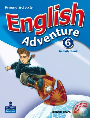 07 -ENGLISH ADVENTURE 6 - ACTIVITY PACK + CD (PRIMARY