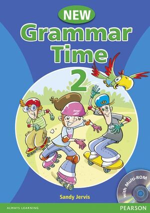 08 NEW GRAMMAR TIME 2 SB WITH CD ROM