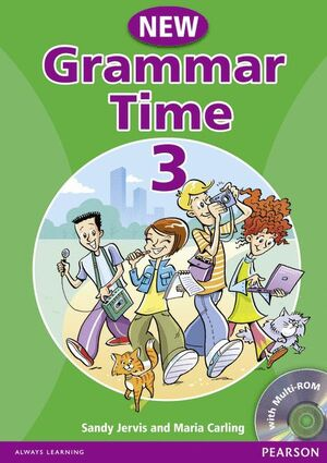 008 NEW GRAMMAR TIME 3 SB WITH MULTI-ROM