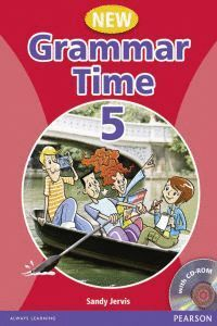 008 NEW GRAMMAR TIME 5 SB WITH CD ROM
