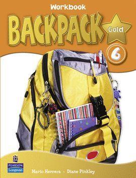 010 BACKPACK GOLD 6 WORKBOOK PACK + CD + CONTENT READE