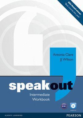 011 WB SPEAKOUT INTERMEDIATE +AUDIO CD