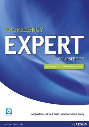 014 PROFICIENCY EXPERT COURSEBOOK AND AUDIO CD PACK
