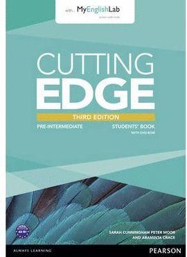 014 SB CUTTING EDGE PRE-INTERMEDIATE (3RD ED.) STUDENT'S BOOK WITH CLASS