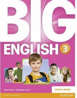 014 SB BIG ENGLISH 3 PUPIL'S BOOK