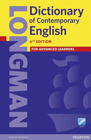 018 DICTIONARY OF CONTEMPORARY ENGLISH