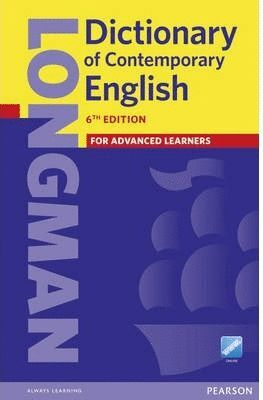 014 DICTIONARY OF CONTEMPORARY ENGLISH FOR ADVANCED LEARNERS