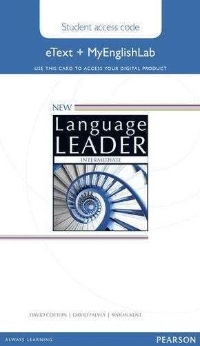 NEW LANGUAGE LEADER INTERMEDIATE ETEXT ACCESS CARD WITH...