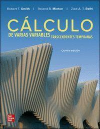 019 CALCULO DE VARIAS VARIABLES TRASCENDENTES TEMPRANAS