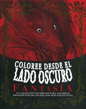 COLOREE DESDE EL LADO OSCURO FANTASIA