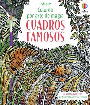 CUADROS FAMOSOS COLOREA POR ARTE DE MAGIA
