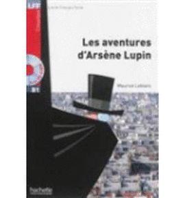LES AVENTURES D'ARSENE LUPIN +CD AU MP3 LFFB1