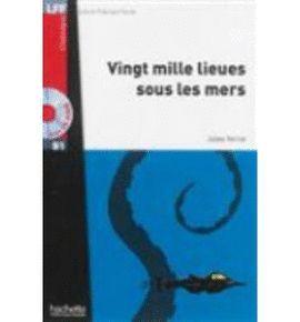 VINGT MILLE LIEUES SOUS LES MERS +CD AUDIO MP3