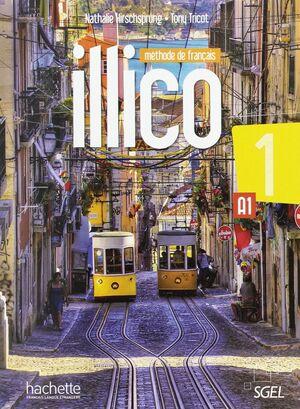 ILLICO A1 - LIVRE DE L'ÉLÈVE + DVD ROM