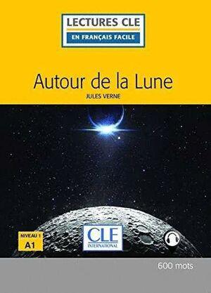 AUTOUR DE LA LUNE NIVEAU 1 - LIVRE