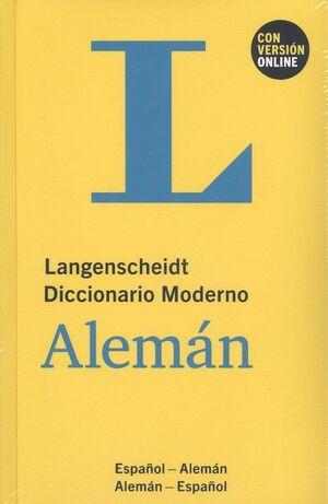DICCIONARIO MODERNO ALEMAN/ESPAÑOL
