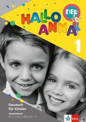 021 1EP WB HALLO ANNA NEU 1, LIBRO DE EJERCICIOS