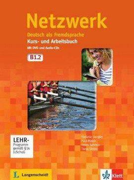 NETZWERK B1-2 KURS AND ARBEITSBUCH (CD+DVD)