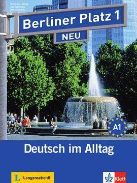010 NEU BERLINER PLATZ 1-LIBRO + CUADERNO