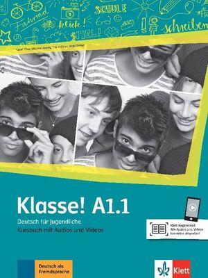 019 KURSBUCH KLASSE! A1.1  LIBRO DEL ALUMNO CON AUDIO
