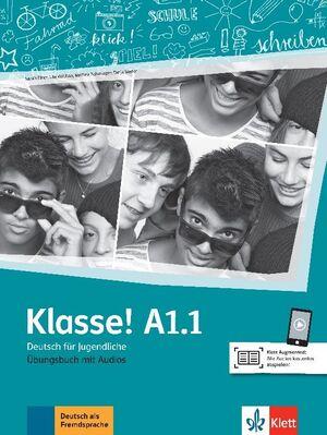 019 ARBEITSBUCH KLASSE! A1.1 EJERCICIOS +ONLINE