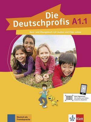 017 DIE DEUTSCHPROFIS A1.1 PACK LIBRO + CUAD+MP3