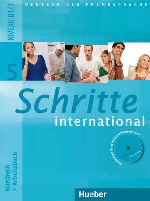 SCHRITTE INTERNATIONAL 5. NIVEA U B1/1 +CD - KURSBUCH+ARBEITSBUCH