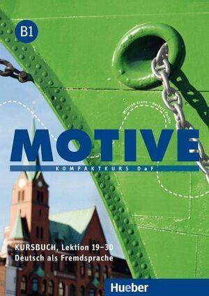 016 MOTIVE KURSBUCH, LEKTION 19-30 B1 ALUMNO