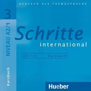 CD'S /SCHRITTE INTERNATIONAL 3 NIVEAU A2/1 -KURSBUCH