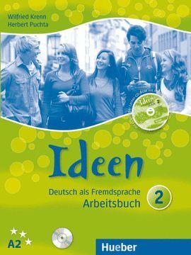 010 2-A2 IDEEN ARBEITSBUCH (+CD)