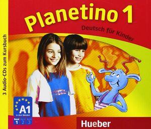 CD PLANETINO 1 A1 KURSBUCH DEUTSCH FUR KINDE (3 CD)