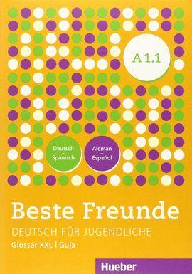 015 BESTE FREUNDE.A1.1.KURSBUCH (GLOSARIO)+XXL