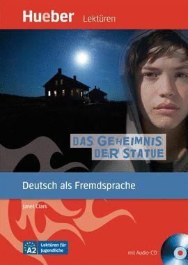 DAS GEHEIMNIS DER STATUE -LEKTUREN NIVEAU A2 (+AUDIO-CD)