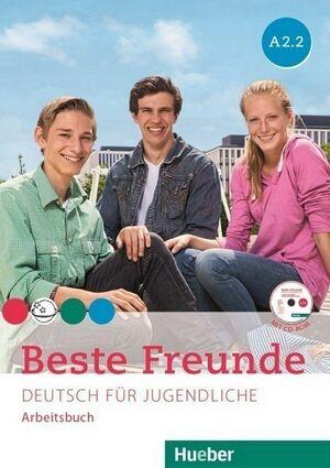 015 BESTE FREUNDE A2.2 ARBEITSBUCH  + CD-ROM