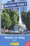 BERLINER PLATZ NEU A1 LIBRO ALUMNO Y EJERCICIOS +CD