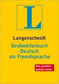 010 GROBWORTERBUCH DEUTSCH ALS FREMDSPRACHE