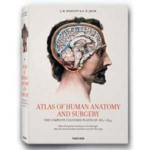 ATLAS OF HUMAN ANATOMY AND SURGERY (THE COMPLETE COLOURED PLATES