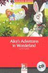 ALICE'S ADVENTURES IN WONDERLAND (+CD) LEVEL 2