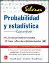 PROBABILIDAD Y ESTADÍSTICA (4ª ED) SERIE SCHAUM