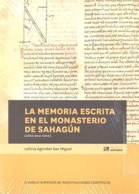 MEMORIA ESCRITA EN EL MONASTERIO DE SAHAGUN