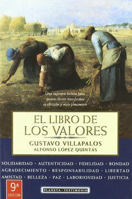 LIBRO DE LOS VALORES,EL