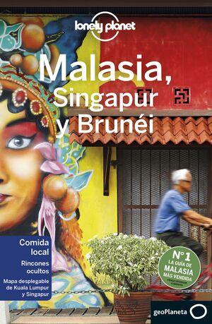 020 MALASIA, SINGAPUR Y BRUNÉI -LONELY PLANET