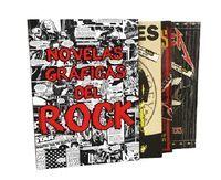 ESTUCHE NOVELAS GRAFICAS DEL ROCK: METALLICA / GUNS N'ROSE / RAMONES