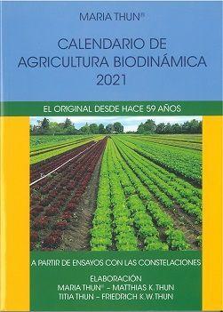 021 CALENDARIO DE AGRICULTURA BIODINAMICA 2021